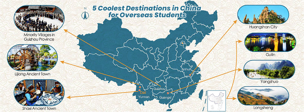 5 Coolest Destinations in China for Overseas Students