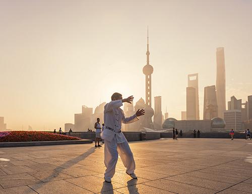 family tour in Shanghai