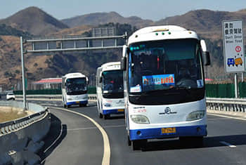 Go to Badaling by bus