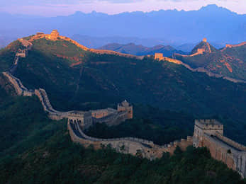 Great Wall Covered by Sunshine