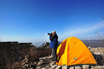 Camping on the Jiankou Great Wall