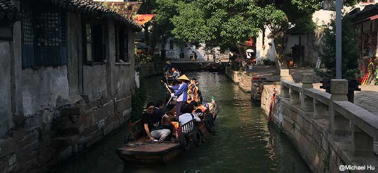 Tongli gondola ride