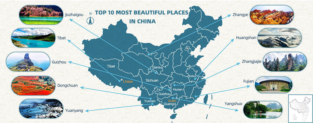 Top 10 Most Beautiful Places in China