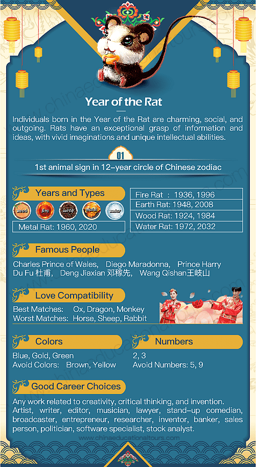 Year of the Rat Infographic