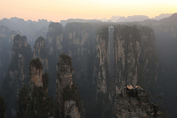 Zhangjiajie National Forest Park: Hallelujah/Avatar Mountain
