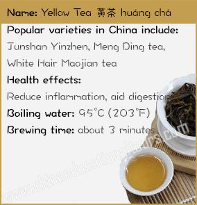Yellow Tea Facts