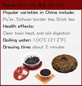 Dark tea facts