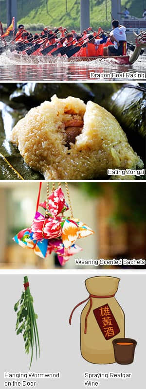 Dragon boat festival traditions