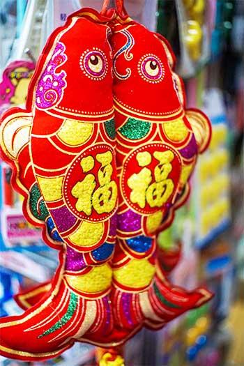 Chinese Good Luck Fish Symbol