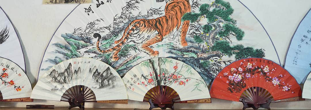 Make A Chinese Folding Fan in Fuli Town