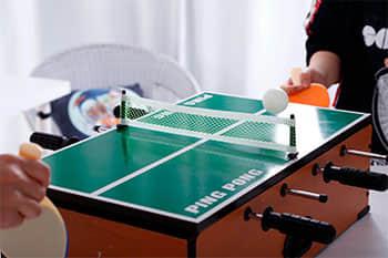Playing Ping Pong