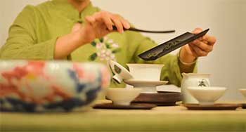 A beautiful tea ceremony can turn into a sinful scam.
