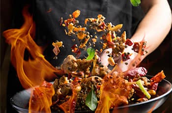 chinese food:cooking sichuan cuisine