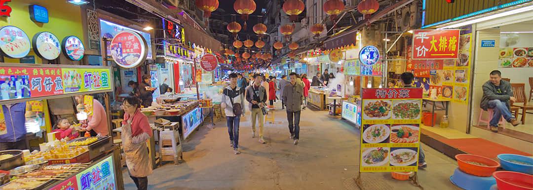 Top 7 Xiamen Snack Streets