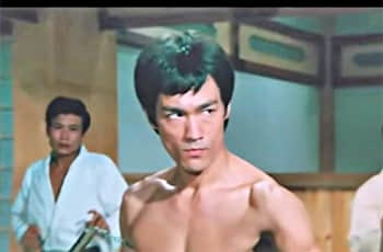 bruce Lee in the movie