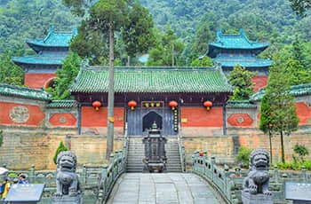 the wudang mountains