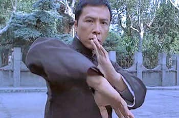 donnie yen in the movie of ip man