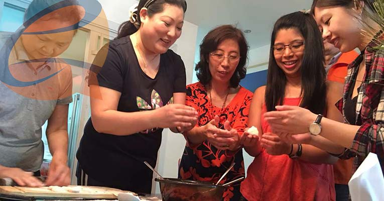 visit a local family and learn Dumpling Making