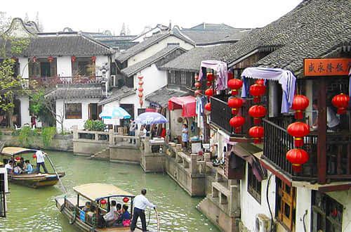 Shanghai Subway Tour with Zhujiajiao Water Town