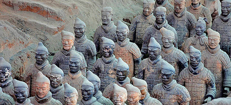 the Terracotta Warriors and Horses Museum