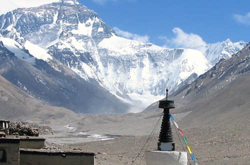 Touch Mt. Everest, Roof of the World