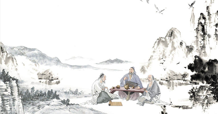 confucian and his students
