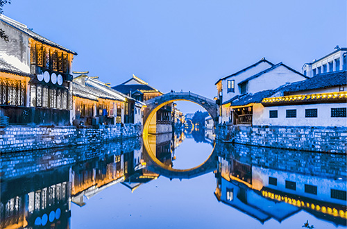 Water Town and City Tour in Hangzhou