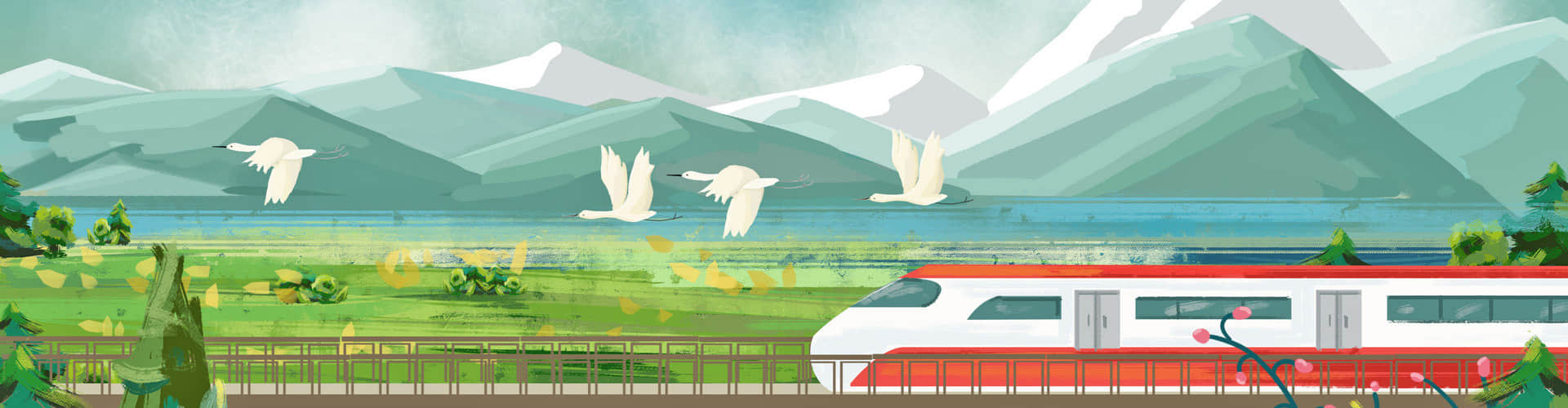 High Speed Train from Ancient to Modern China