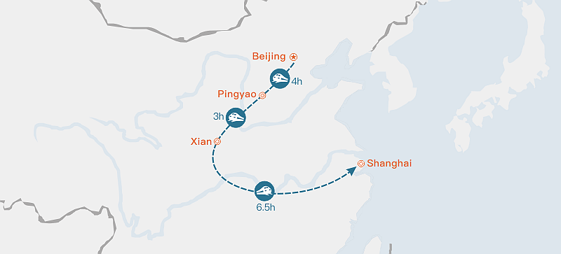High Speed Train from Modern to Ancient China