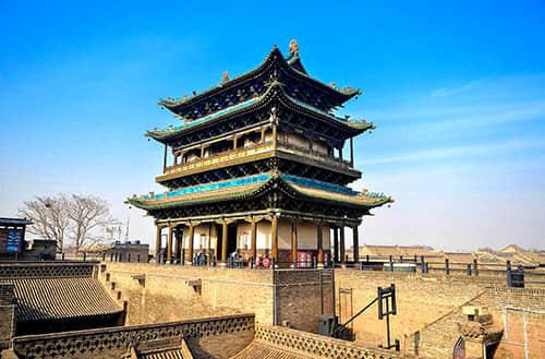China architecture tour