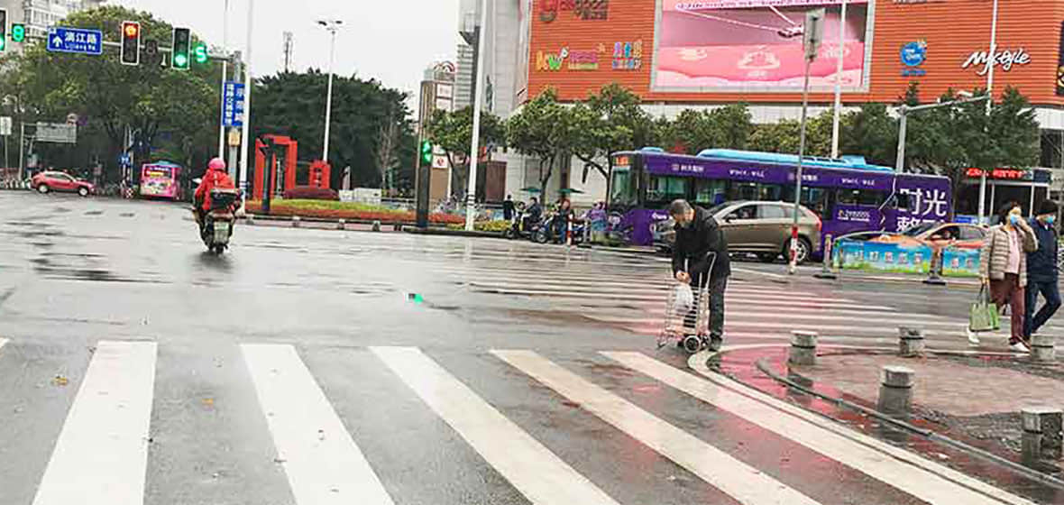 How do You Cross the Street in China?