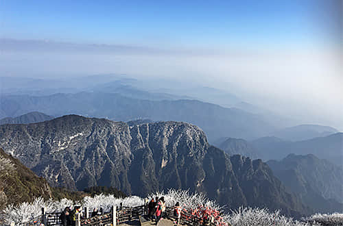 Discovery from Chengdu to Mt. Emei
