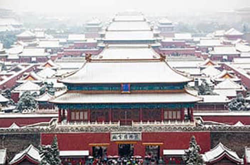 Winter all Over China