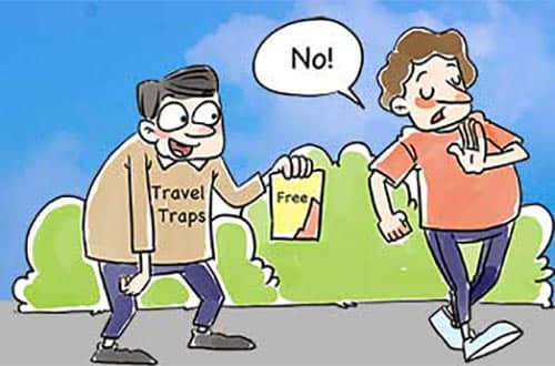 travel traps in China