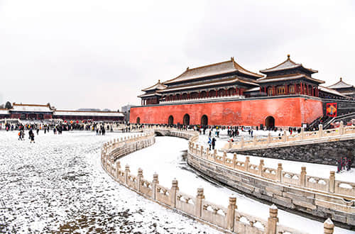 Snow in the Forbidden City