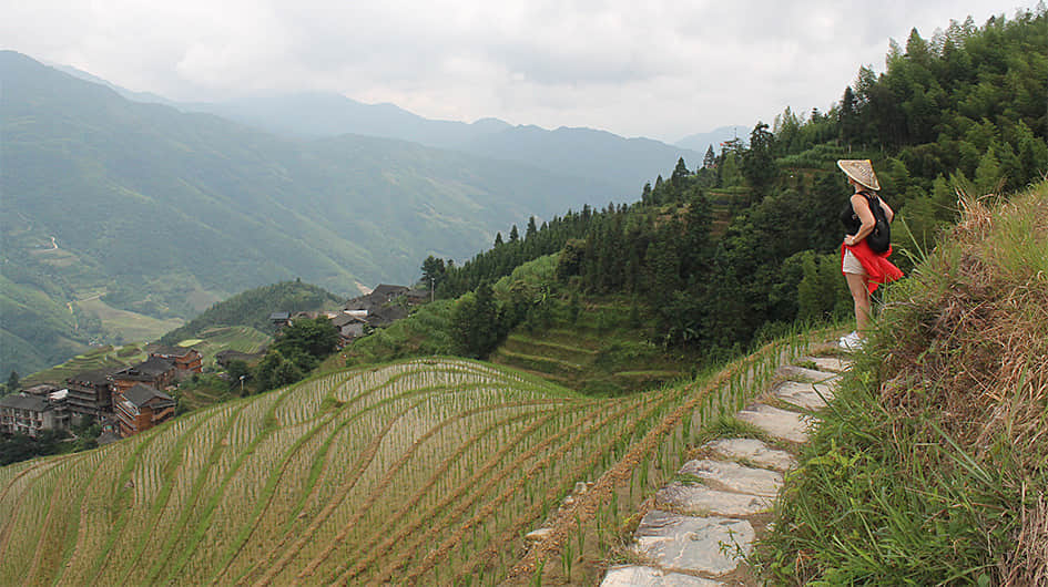 longji mountains