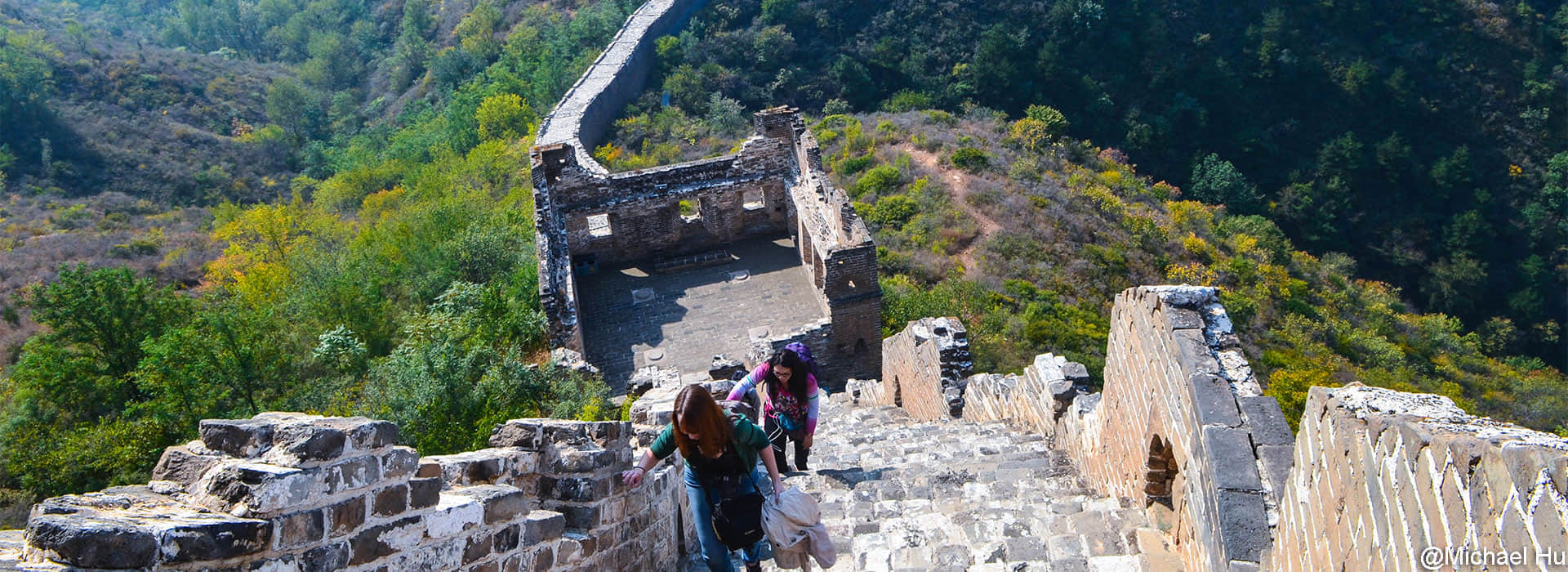 Hiking the Original Great Wall Sections in Beijing