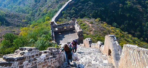 Hiking and Camping on the Great Wall