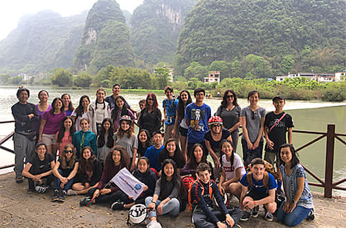 Middle School Students Trip to China