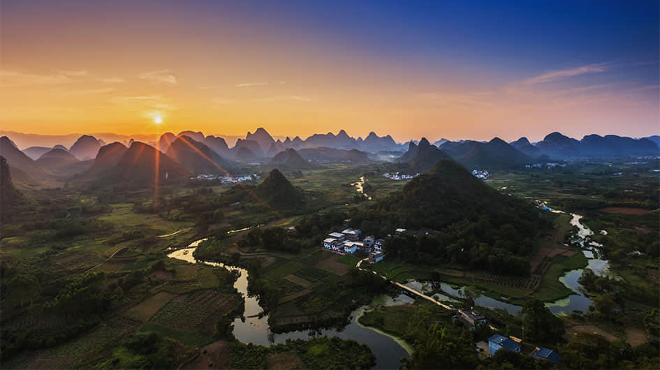 beautiful yangshuo countryside