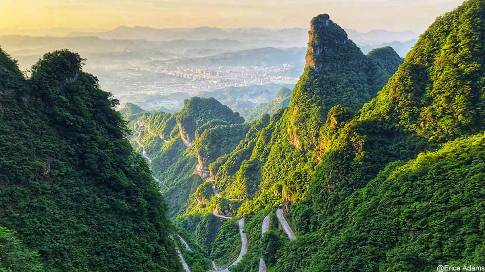 beautiful zhangjiajie
