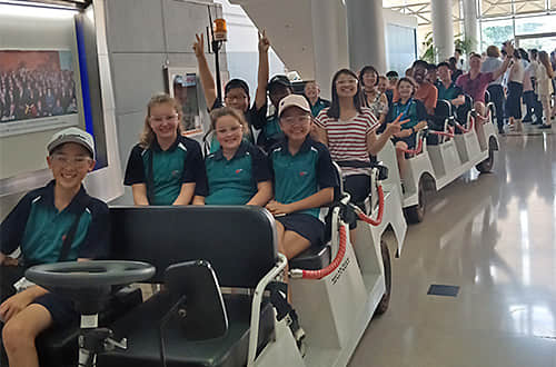 China Industrial Tour for Students