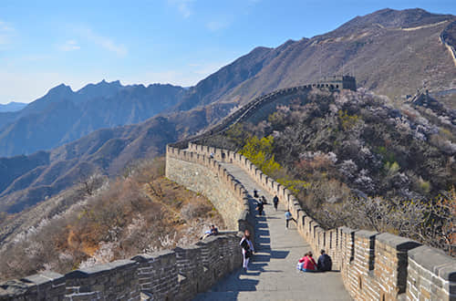 a section of great wall