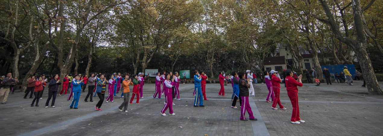 Chinese Public Square Dancing