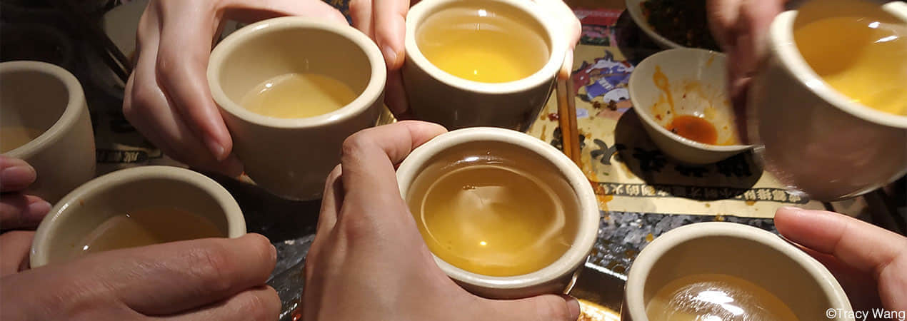 Ganbei (Bottoms up) - Chinese Drinking Culture