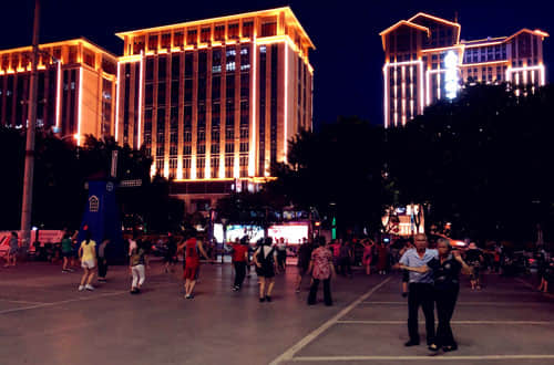 Public Square Dancing