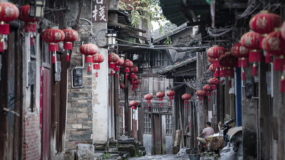 Daxu Old Town Photography