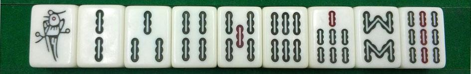 Mahjong Bamboos