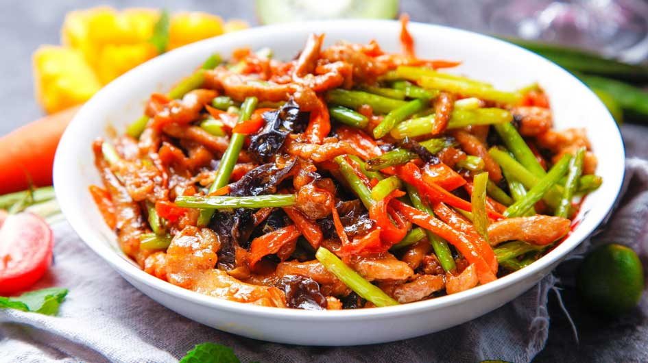 Shredded Pork in Garlic Sauce