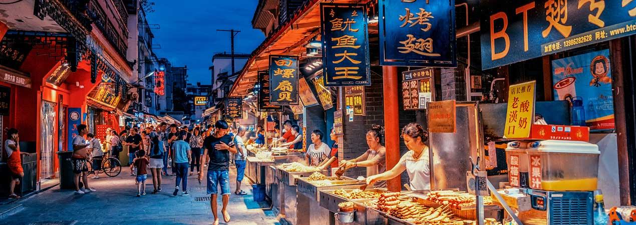 Top 5 Snack Streets in Wuhan
